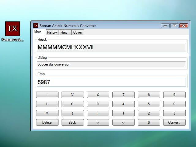 Roman Arabic Numerals Converter Convertidor De Números Romanos Y árabes