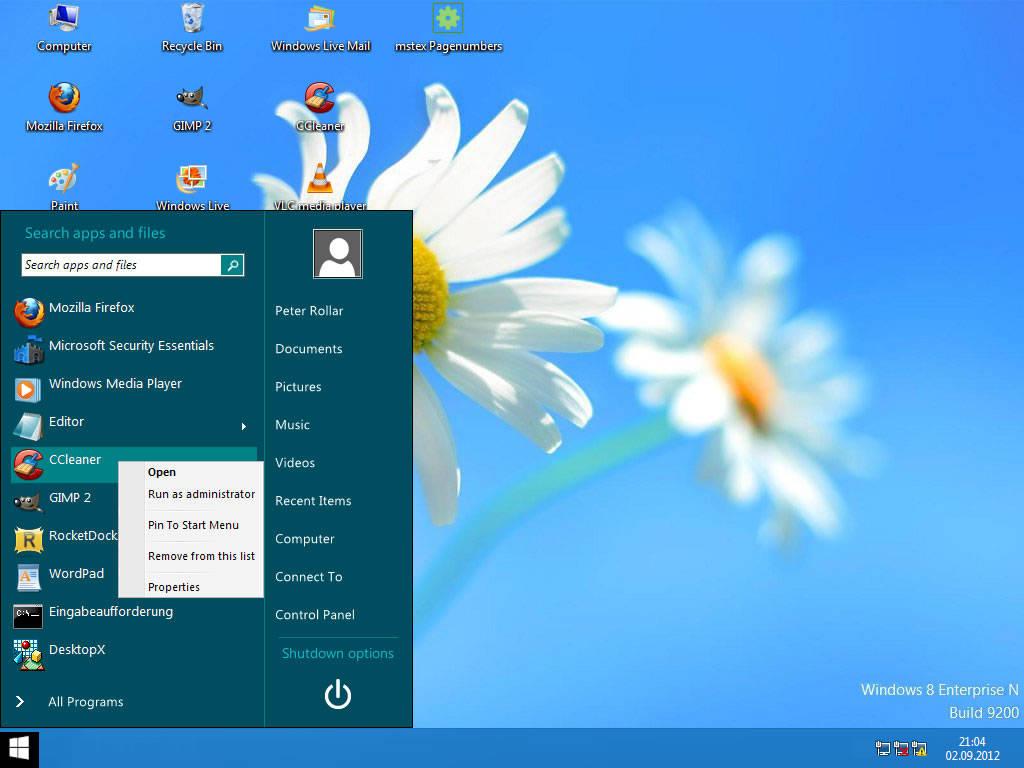 """""""Un Botón de inicio, una característica nunca antes vista en versiones anteriores de Windows, Definitivamente que Windows 8.1 cambiará definitivamente la tecnología con sus excelente innovaciones"""""""