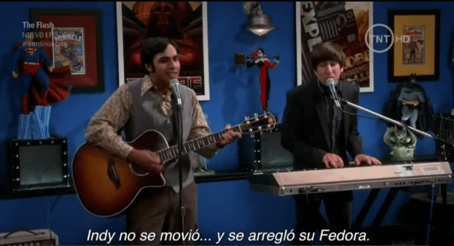 Fedora en The Big Bang Theory 9X04